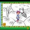 Colorează insectele primăverii!