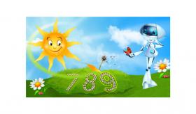 Venirea primăverii este un prilej pentru copii să învețe să numere!