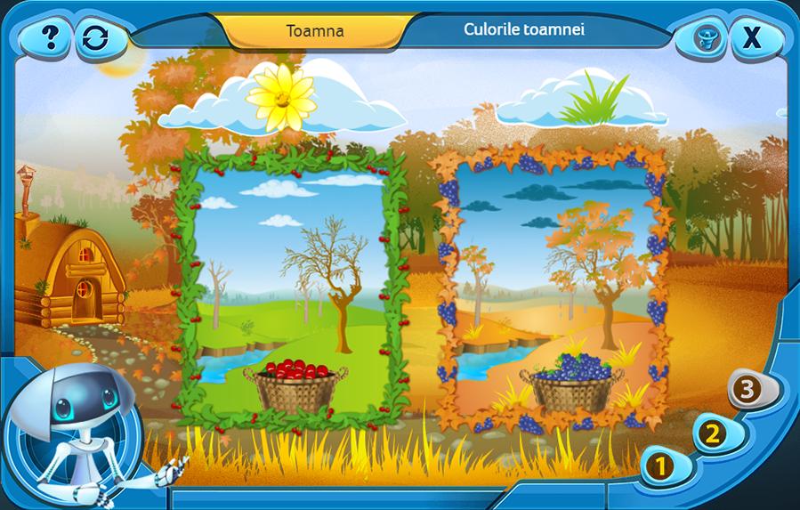 http://Grădinița%20Dacobots Derzelis îi invită pe toți copiii la joacă! Platforma educațională Dacobots.com este spațiul virtual în care preșcolarii pot descoperi bogățiile naturii și fenomenele caracteristice fiecărui anotimp.