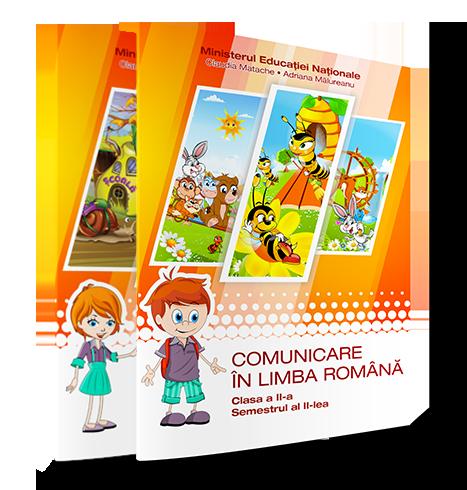 Manualele EduTeca Comunicare în limba română – Clasa a II-a