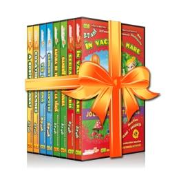 """Colectia EduTeca – Seria Anotimpurile Seria """"Anotimpurile"""" din Colecţia EduTeca este compusă din 8 CD-uri educaţionale interactive, adresate copiilor preşcolari. Acestea îmbină plăcerea jocului cu metode educaţionale conforme cu programa şcolară."""