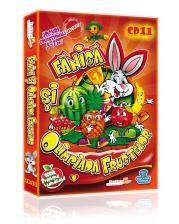 Fănică și Olimpiada Fructelor Cel de-al III-lea titlu din Seria Prietenii Sănătății este aici! In cele 16 module educaționale copiii vor învăța despre 18 fructe.