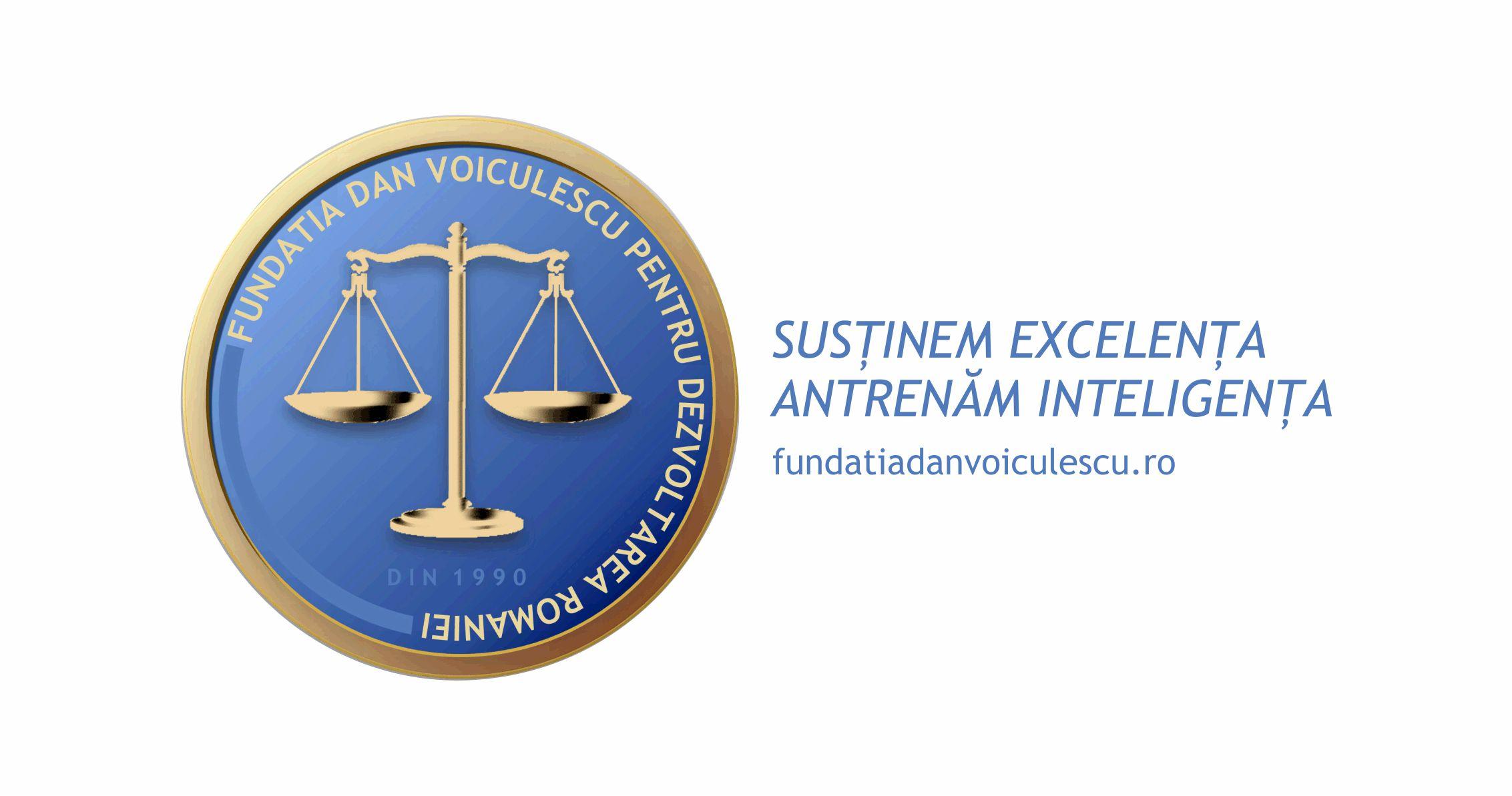 www.fundatiadanvoiculescu.ro De 20 de ani, misiunea organizaţiei este aceea de a promova valorile umane şi profesionale, in domeniul tehnic, stiintific, social, economic, educaţional, cultural şi artistic.